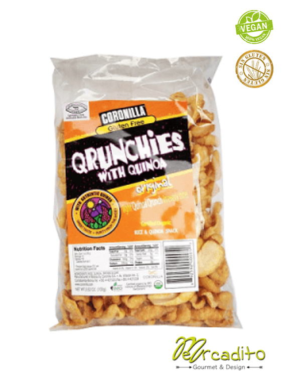 Qrunchies Original - Cereal Sin Gluten, Sin Azúcar