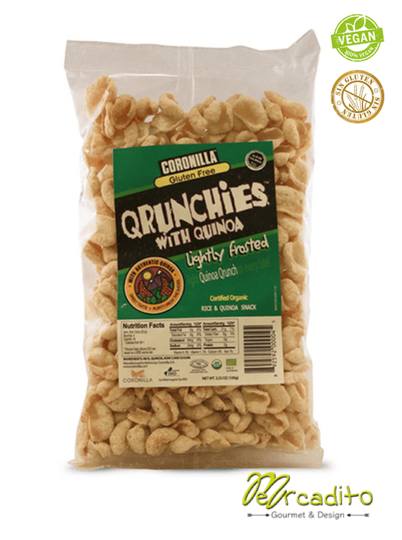 Qrunchies Light Frosted - Cereal Sin Gluten, Sin Azúcar