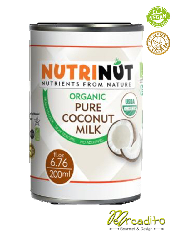 Organic coconut milk - 400 ml