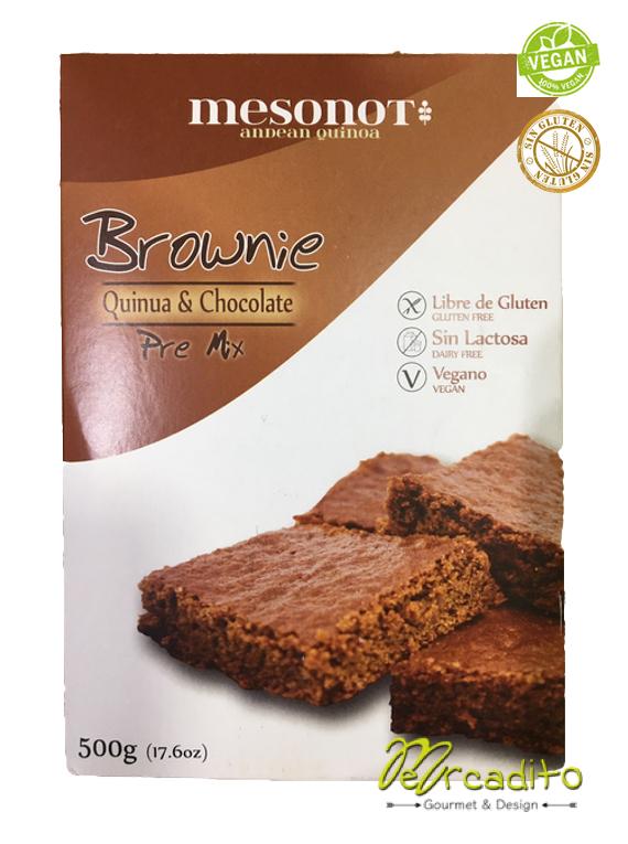 Pre Mix Harinas para Brownie de Quinoa & Chocolate