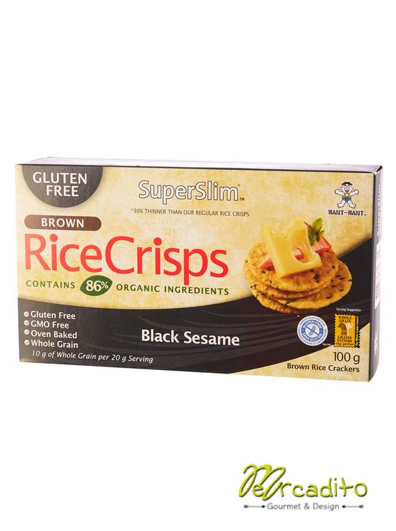Galletas RiceCrips Sesamo Negro