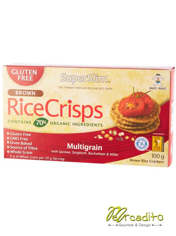 Galletas RiceCrips Multigranos