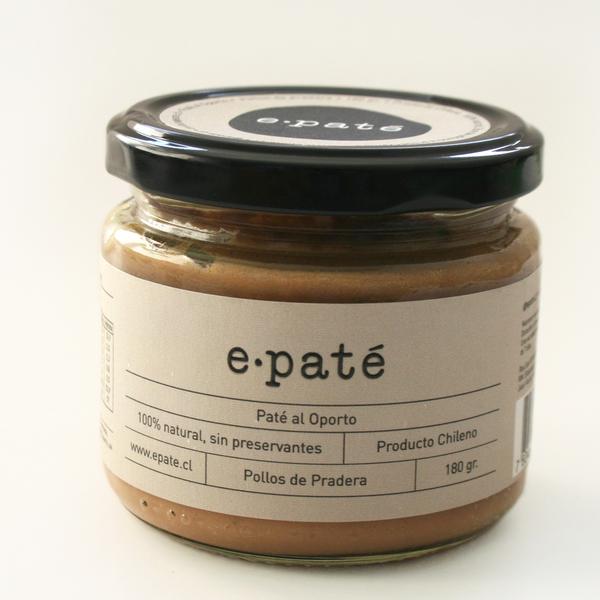 Paté al Oporto - 100% Natural