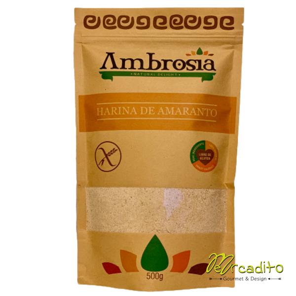 Harina de Amaranto - Sin Gluten certificada