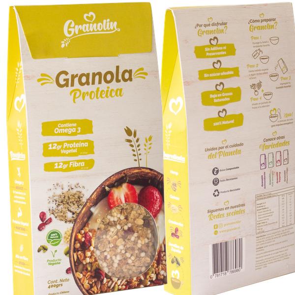 Granola Proteica - Granolin