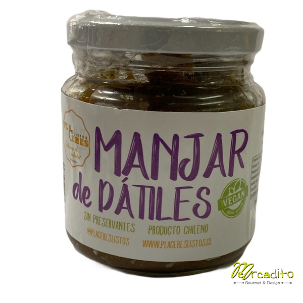 Manjar de Dátil 250 grs - 100% natural, Vegano