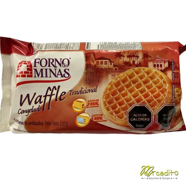 Waffle Congelado (6 unidades)