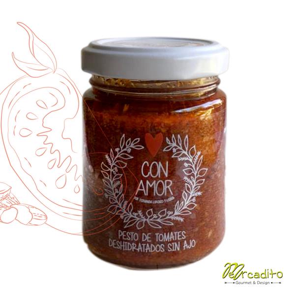Pesto de Tomates Deshidratados (sin ajo)