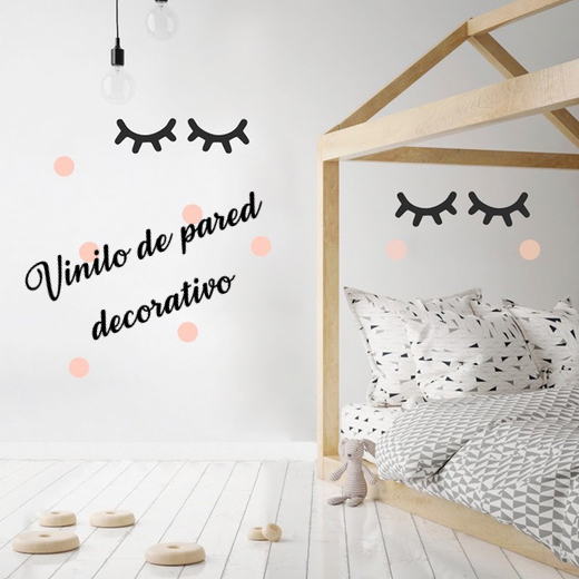 "Vinilo decorativo de Pared ""Ojos de Unicornio"""