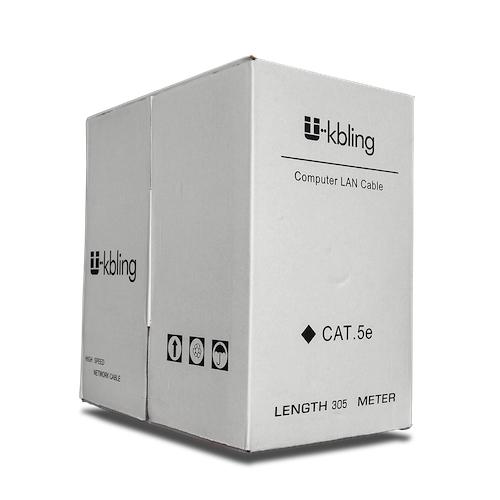 Cable UTP Pares Cat. 5e Unifilar Gris