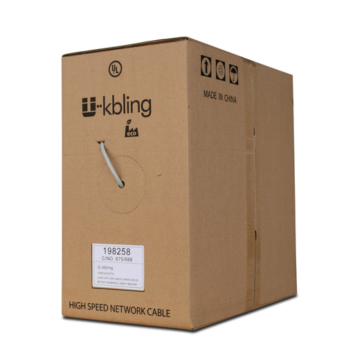 Cable UK UTP eco 4 Pares CAT. 6 Unifilar Gris (305)