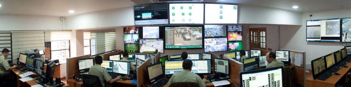 Monitoreo Ambiental NTI en Carabineros de Chile