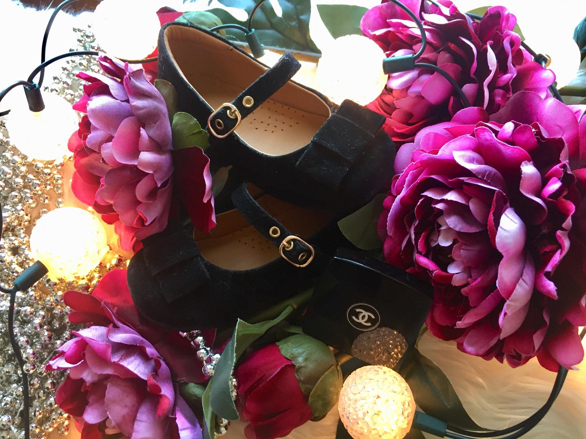 Zapatos Liv Velvet Black