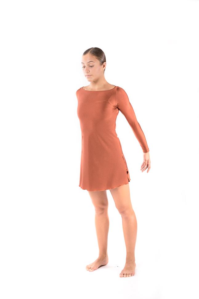 VES047   Vestido em licra