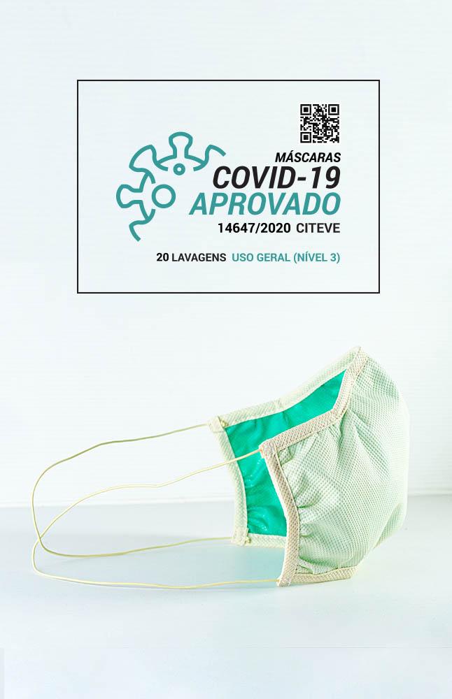 MÁSCARA Reutilizável Certificada Nível 3, 20 lavagens | ACE058