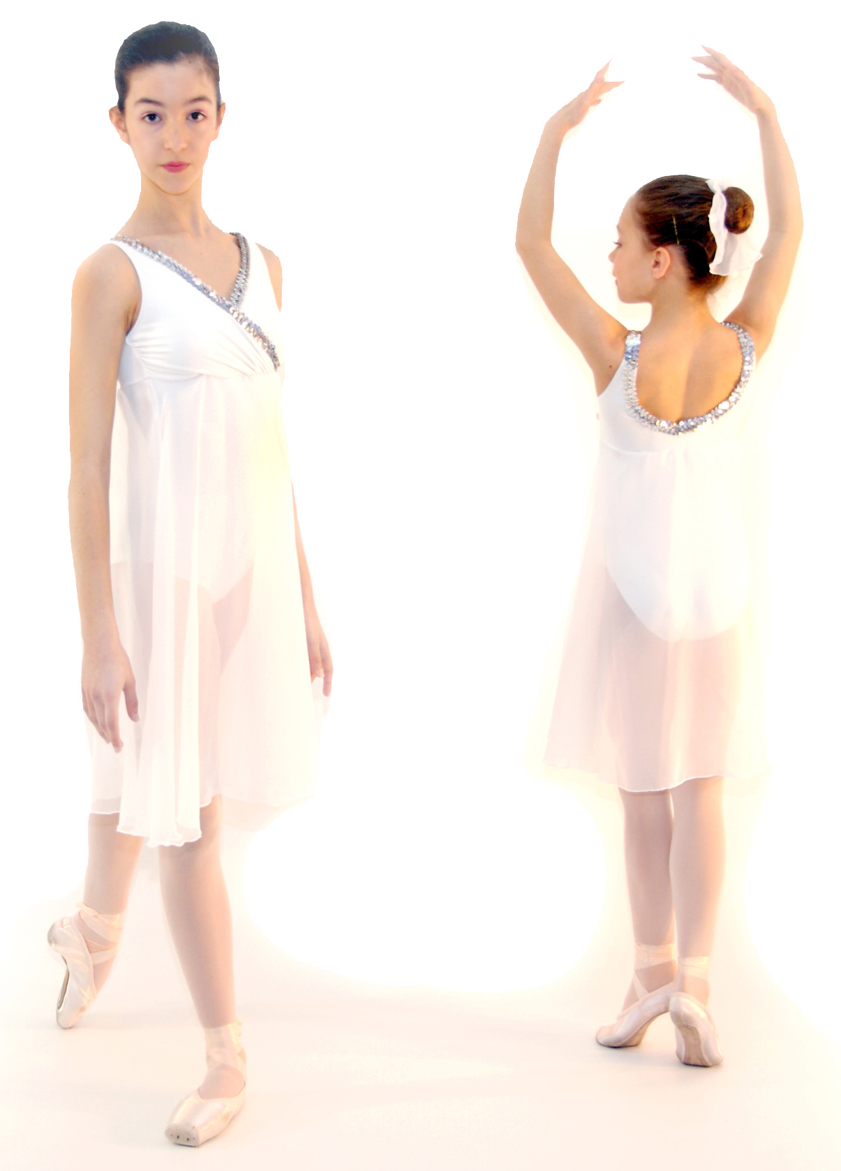 VES129 - Vestido/body em lycra de algodão