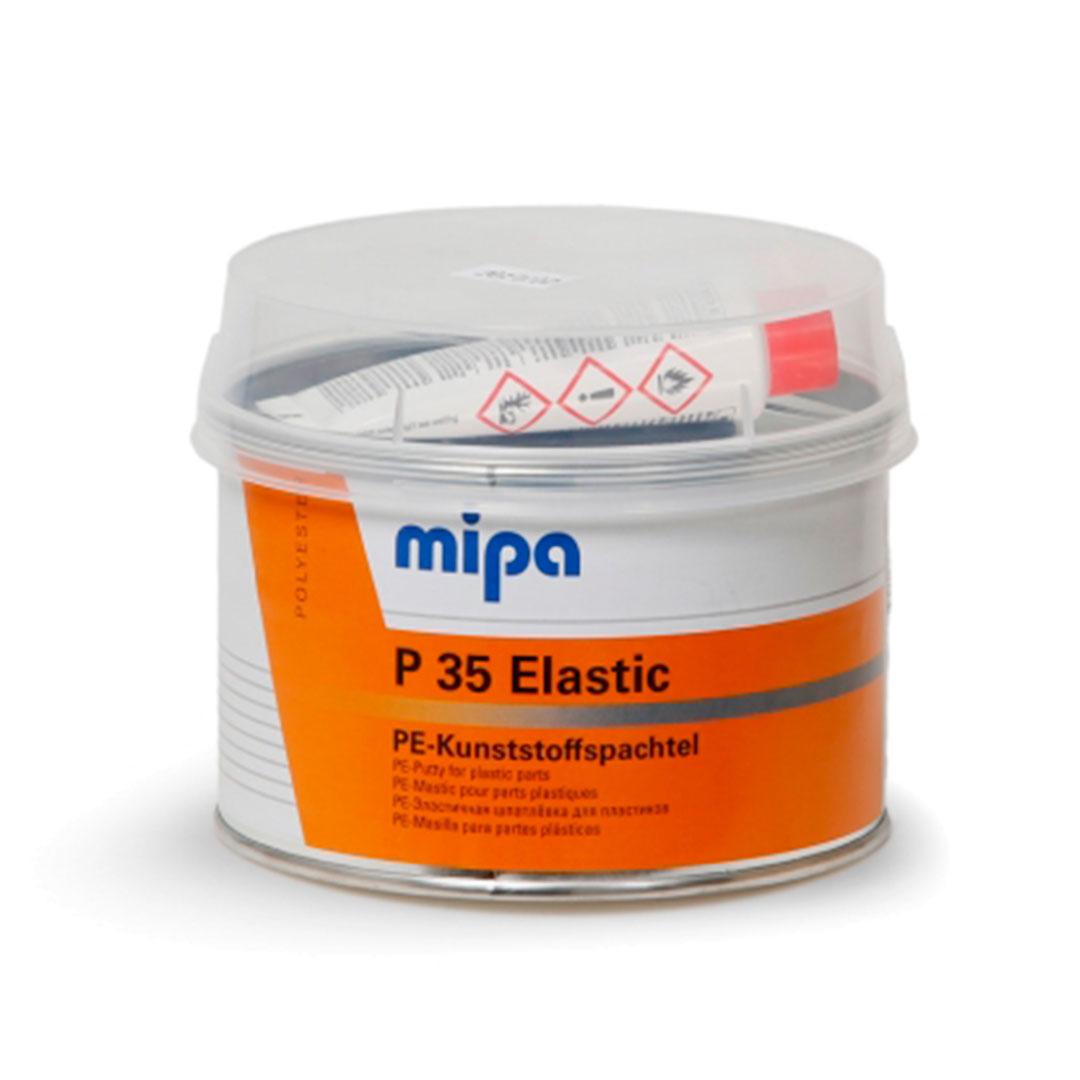 Masilla P35 0,25Kg caja de 6 unidades color Gris