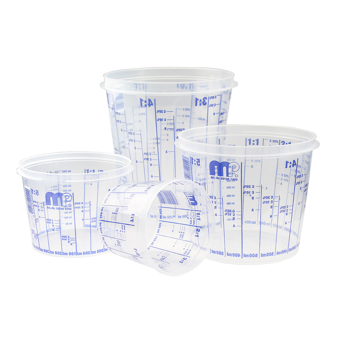 Vaso de mezcla 750 ml color Transparente