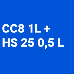 Kit Barniz 2:1 CC8 1L + Catalizador Normal Hs25 500ml