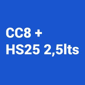 Kit Barniz 2:1 CC8 5L + Catalizador Normal HS 25 2.5L