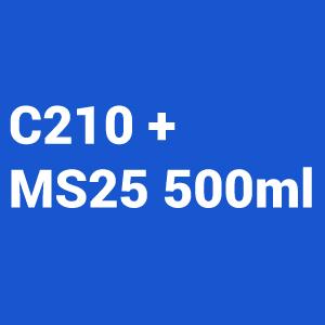 kit Barniz 2:1 C210 1L + Catalizador Normal MS25 500ml