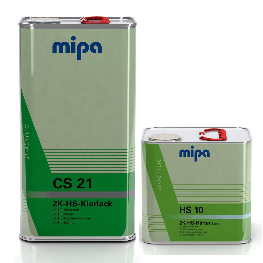 Kit Barniz 2:1 CS21 5L + Catalizador rápido HS 10 2.5L