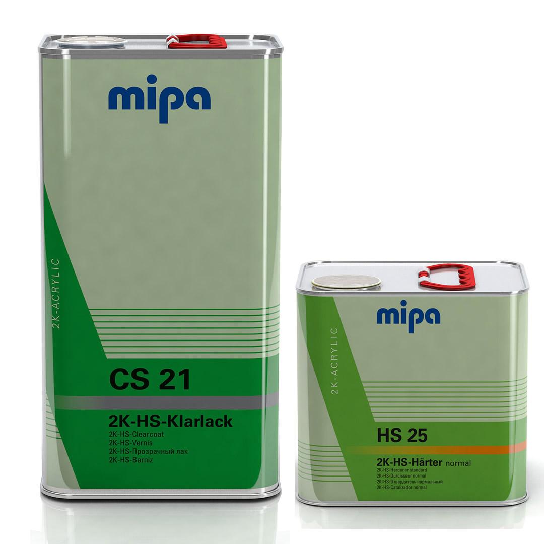Kit Barniz 2:1 CS21 5L + Catalizador Normal Hs25 2.5L