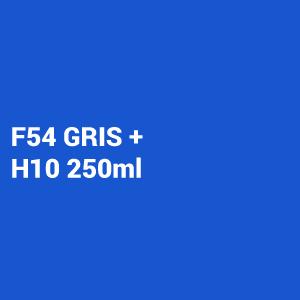 Kit Primer 4:1 F54 gris 1L + Catalizador Rapido Hs10 250ml