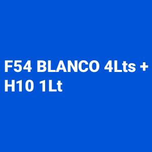 Kit Primer 4:1 F54 Blanco 4L + Catalizador Rapido H10 1L