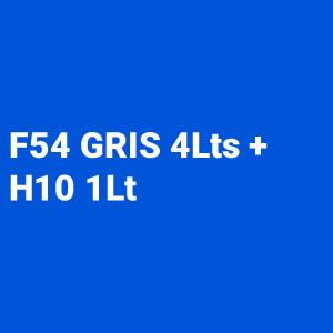 Kit Primer 4:1 F54 gris 4L + Catalizador Rapido H10 1L