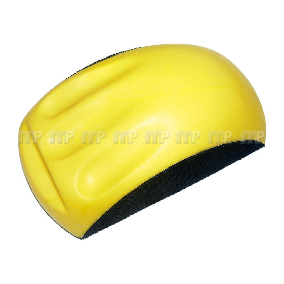 Taco Amarillo mano ergonomico VelcroLiviano, facil de manipular unidad color amarillo