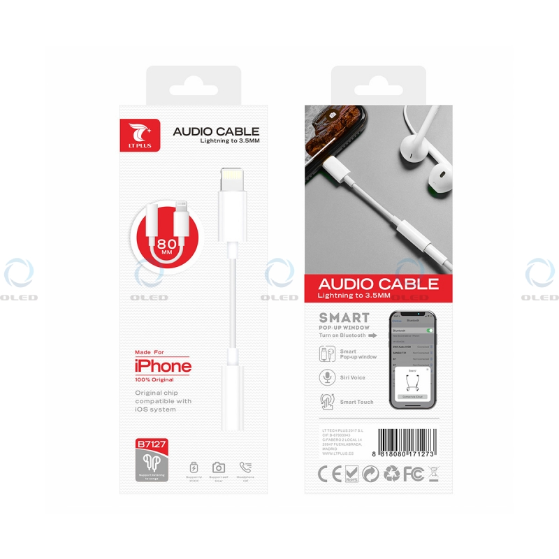 Adaptador Lightning Bluetooth