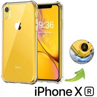 Carcasa iPhone XR Transparente Borde Reforzado