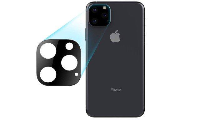 Vidrio Templado Camara Trasera - iPhone 11 PRO - 11 PRO MAX