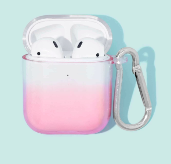 Carcasa AirPods 1/2 Degrade Rosa