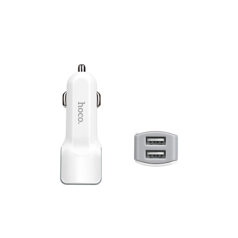 Cargador Auto Completo Micro-USB 12W - Hoco