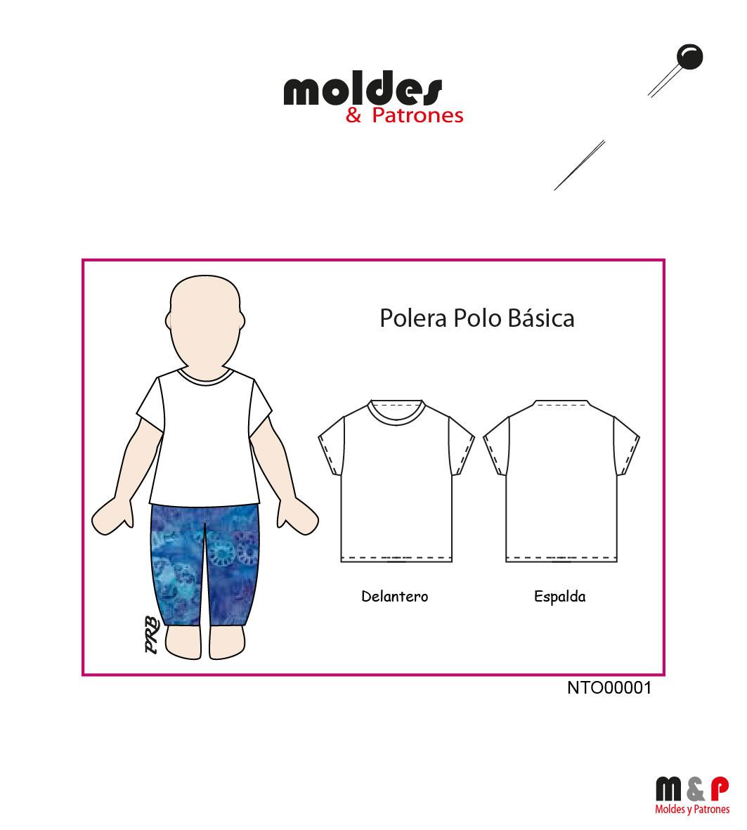 POLERA NIÑO 3 tallas - 2 - 4 - 6