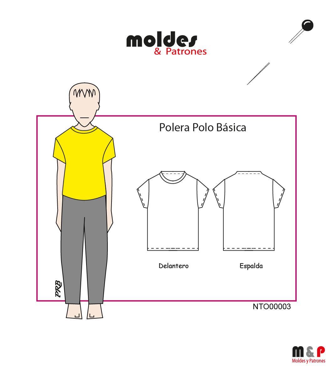 POLERA NIÑO 3 tallas - 14 - 16 - 18