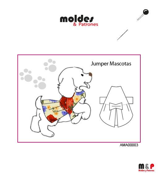 Molde de Jumper Mascota