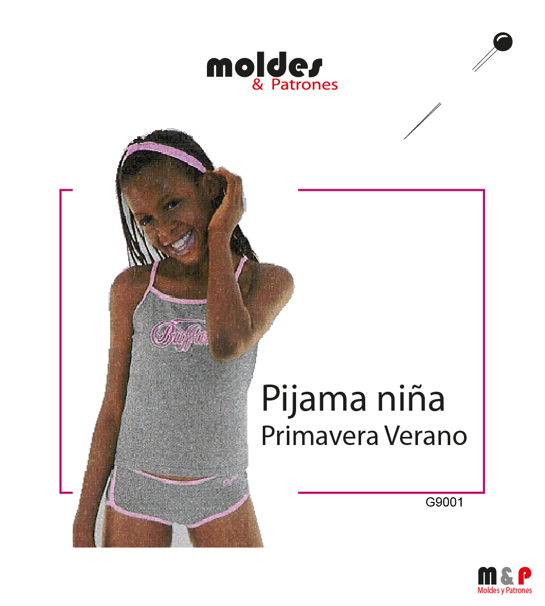 Pijama primavera verano Niña