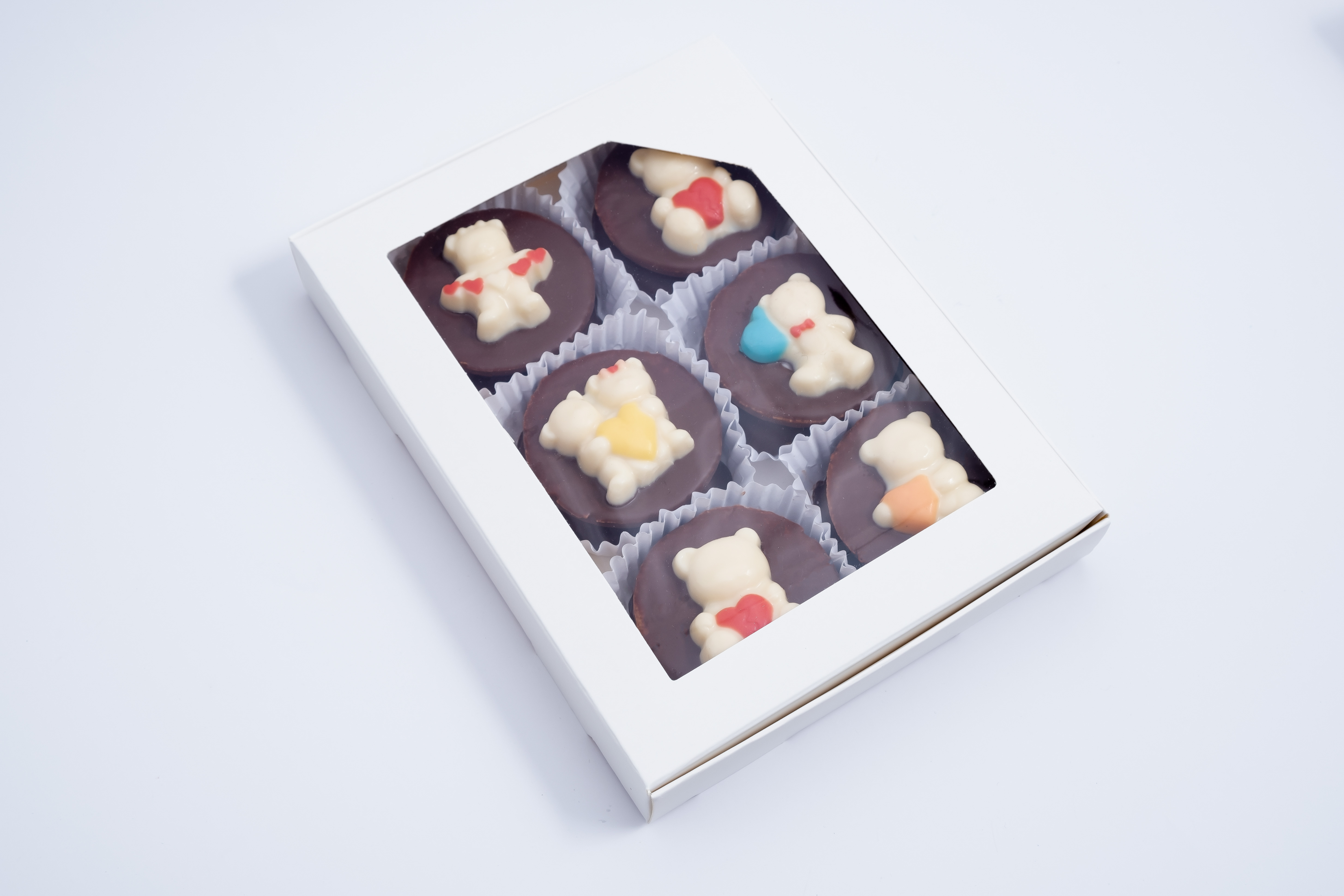 Caja 6 alfajores diseño