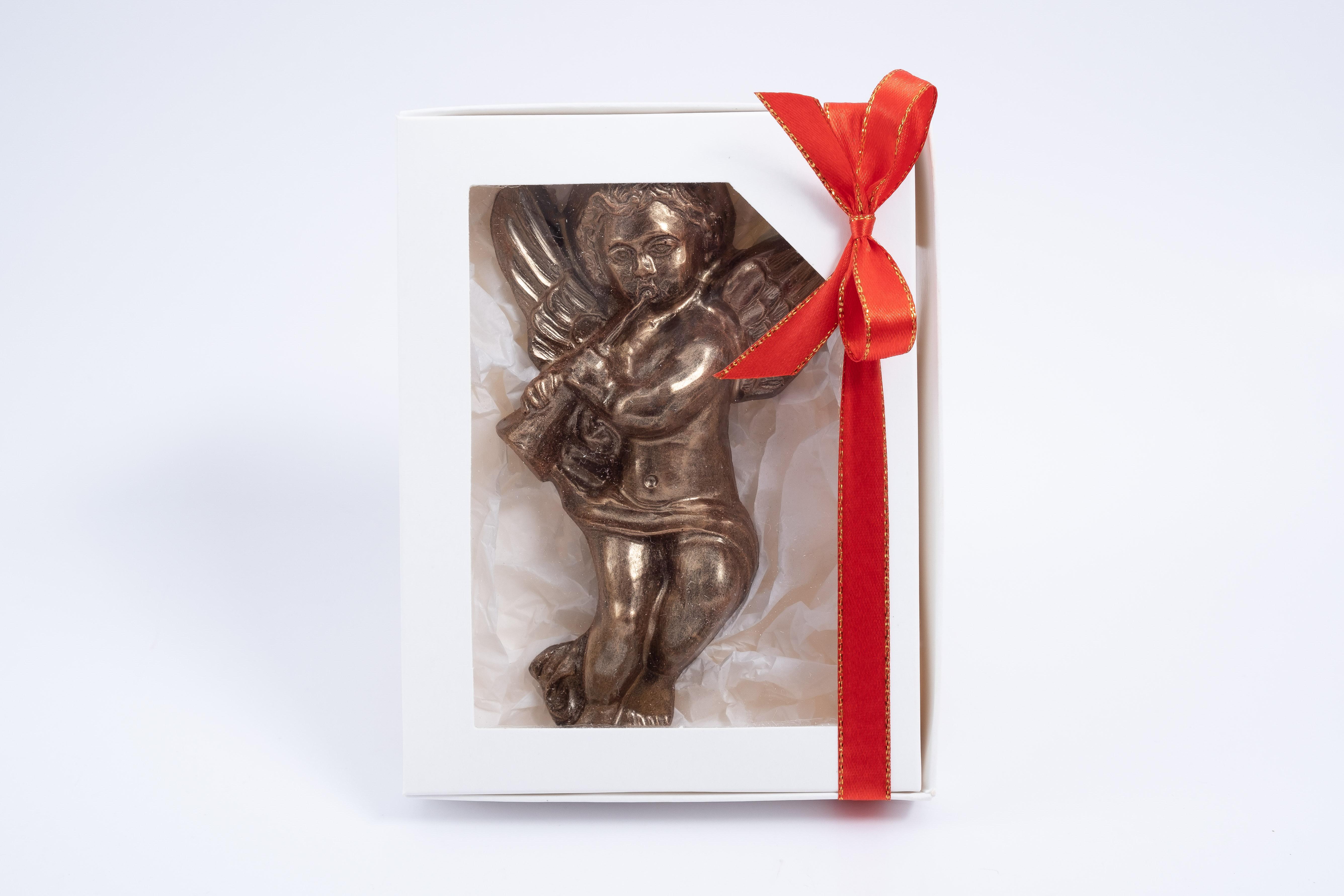 Caja ángel trompeta