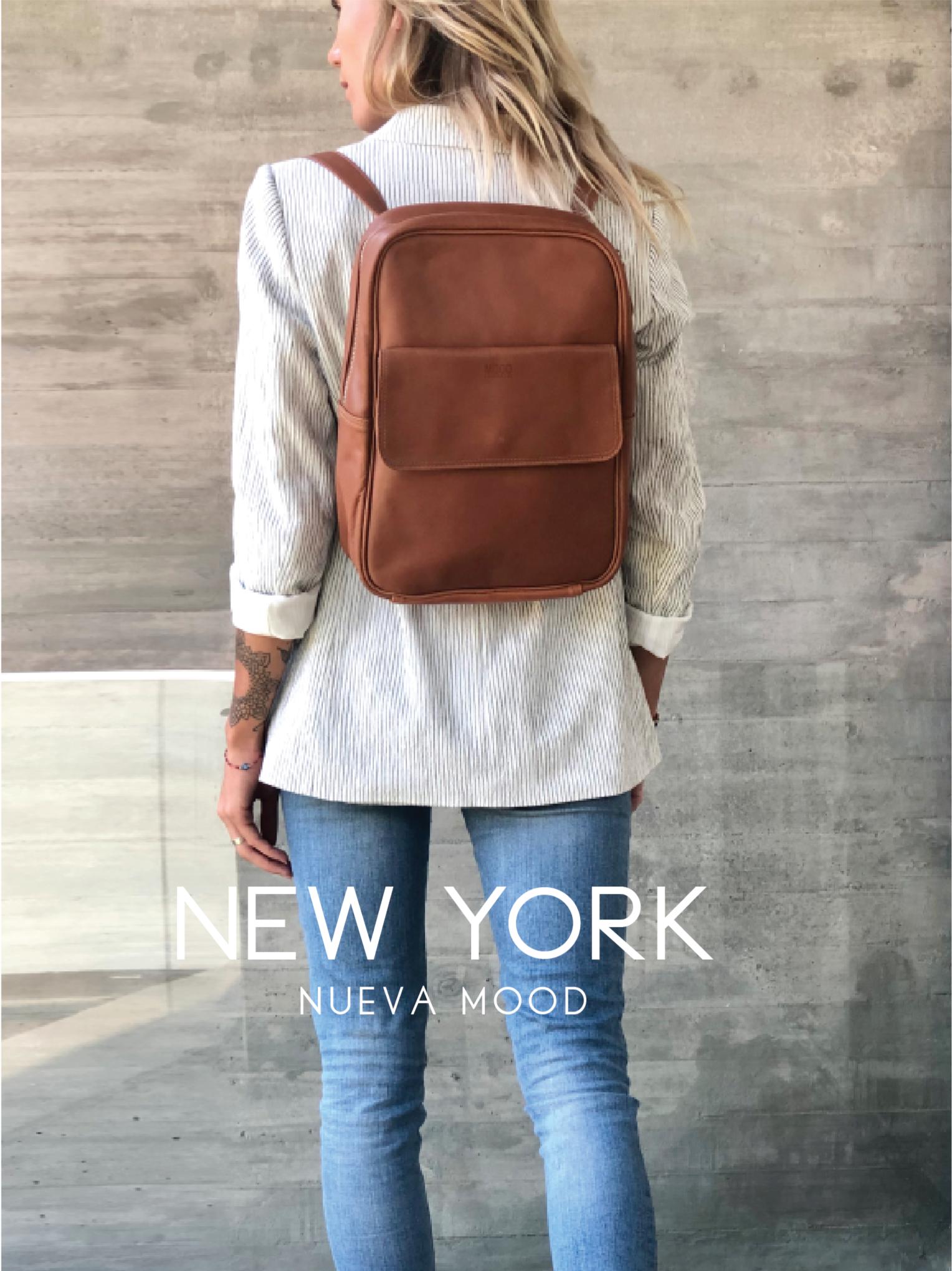 MOCHILA NEW YORK / CAMEL