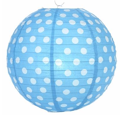 Lámparas Dots Celeste