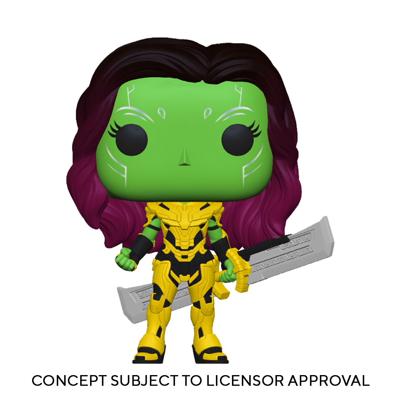 POP! Marvel What If… ?: Gamora with Blade of Thanos