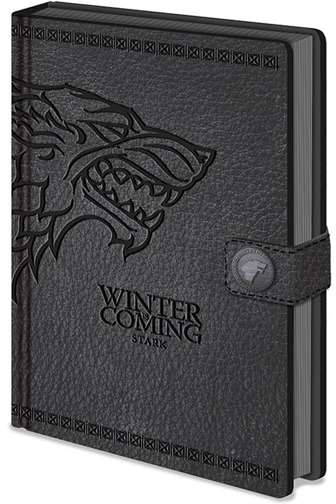 Notebook A5 Premium Game of Thrones Stark