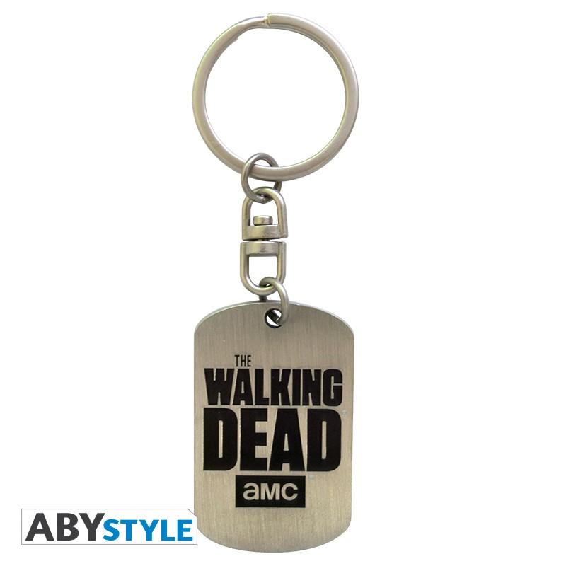 Porta-chaves The Walking Dead Dog Tag Logo