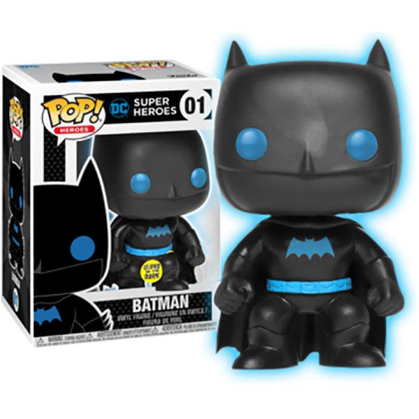 POP! Heroes: Batman GITD Edição Exclusiva