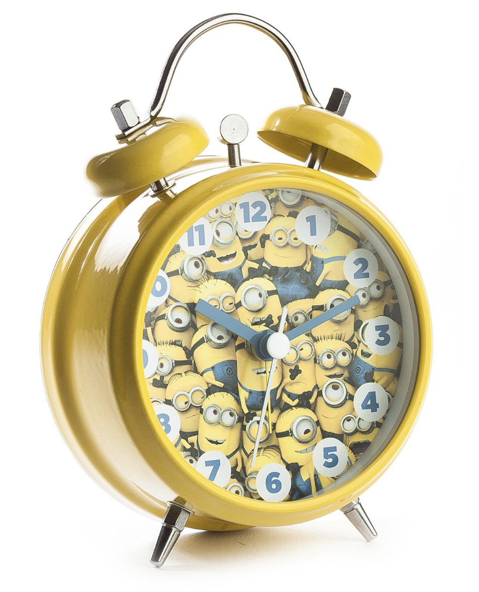 Mini Despertador Minion Made