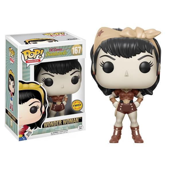 POP! Heroes: DC Comics Bombshells Wonder Woman Chase Edition